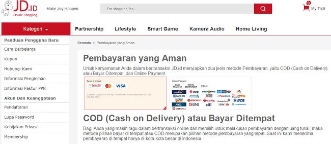 toko online yang bisa bayar di tempat
