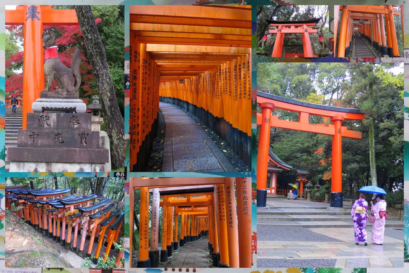 Fushimi Inari Shrine - Orange Torii Gates - Kyoto