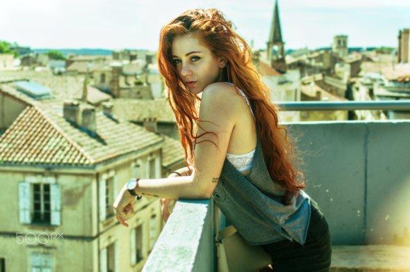 Arti Frederic 500px arte fotografia mulheres modelos fashion beleza ruiva francesa margaux verissimo