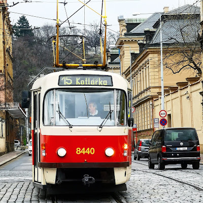 Tram in Prague What Claire Did Travel Blog