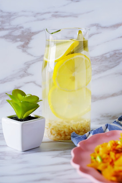Easy Lemon Barley Drink