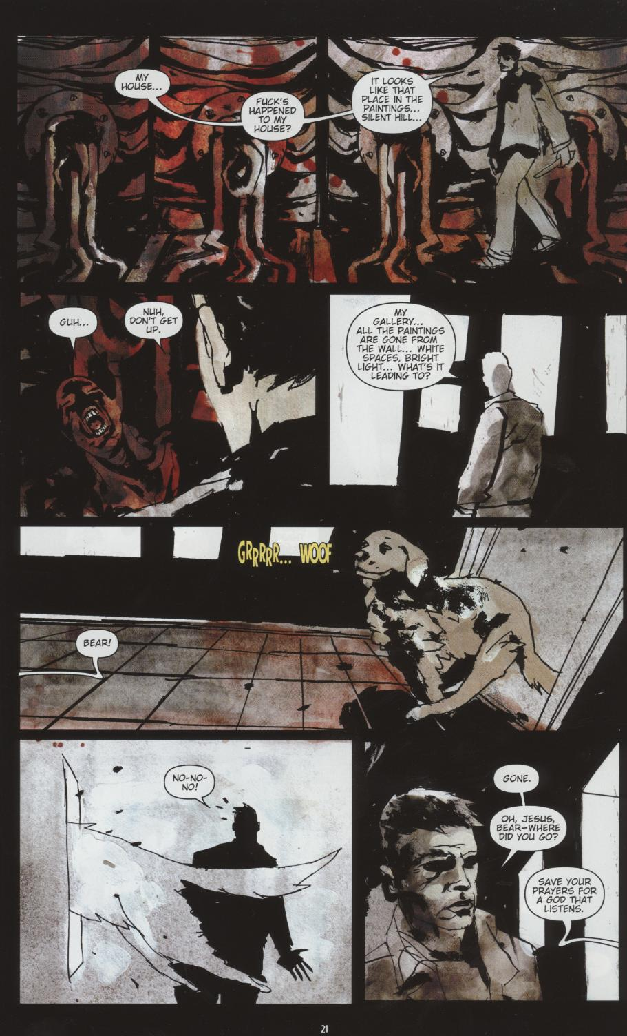 Read online Silent Hill: Dead/Alive comic -  Issue #1 - 21