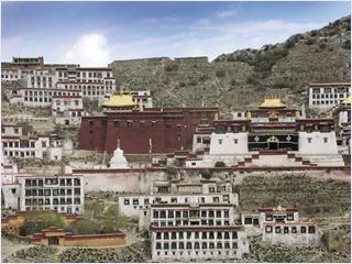 อารามกานเดน (Ganden Monastery)