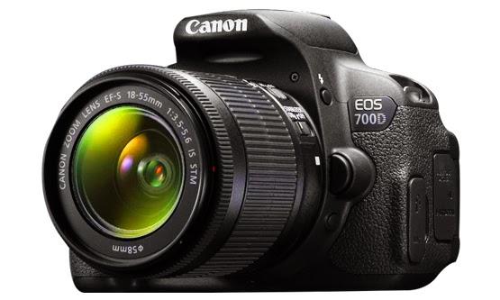 Harga dan Spesifikasi Kamera SLR Canon EOS 700D Baru