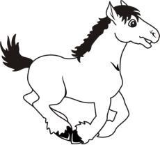 malvorlagen zum ausmalen: malvorlagen pferde: ausmalbilder  bastelvorlagen