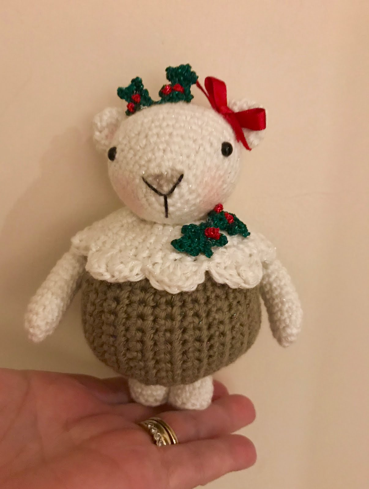 Pudding Polar Bear Pattern