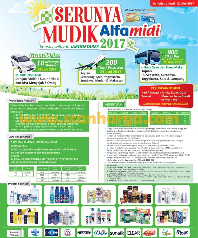 Promo Alfamidi Diskon Mudik Lebaran 2018 Katalog Promosi Katalog Promosi