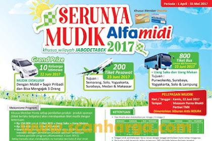 Promo Alfamidi Diskon Mudik Lebaran 2018