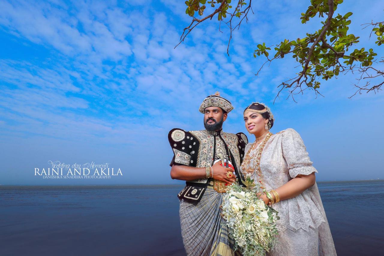 raini charuka wedding kandyan day