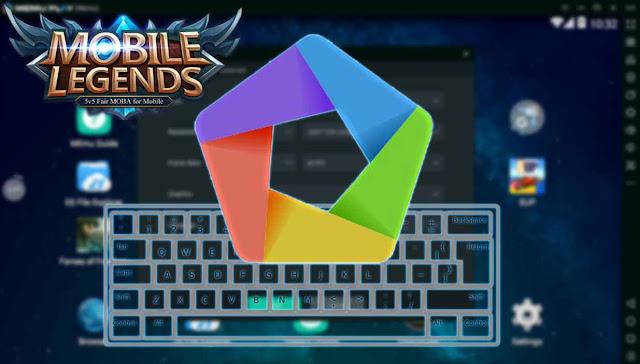 main mobile legends di pc dengan memu + setting tombol