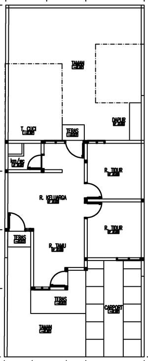 Desain Rumah Minimalis Biru Tosca 7x18 m2  Seputar Dunia