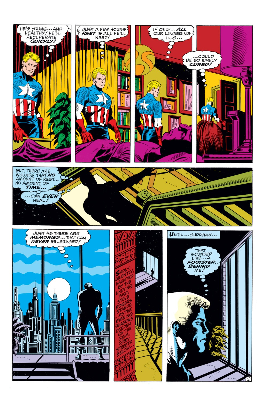 Read online Captain America (1968) comic -  Issue #110 - 10