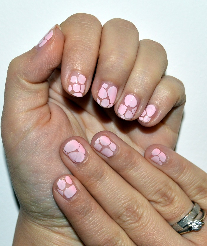 #beauty, beauty, #nails, nails, diy nails, natural nails, nail art, nail design, pastel pink nails
