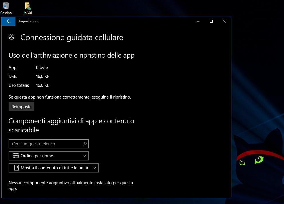 Come ripristinare le App in Windows 10 Jo Val