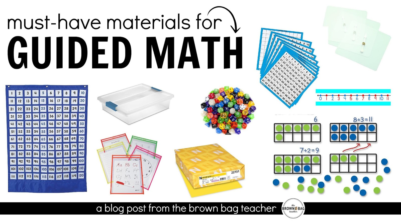 Guided Math: Must-Have Math Materials | The Brown-Bag