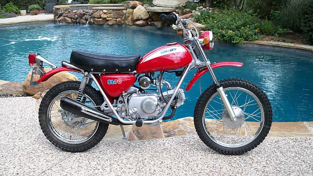 Honda SL70 Motorcycle Wiring Diagram | All about Wiring Diagrams