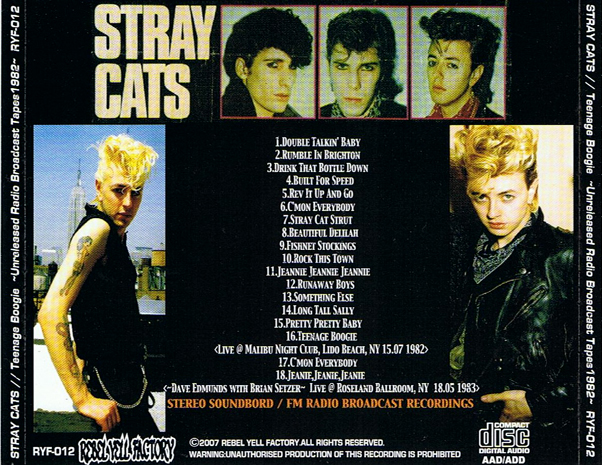 Stray cats bootlegs