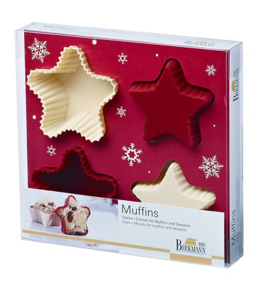 Muffin Set Sterne
