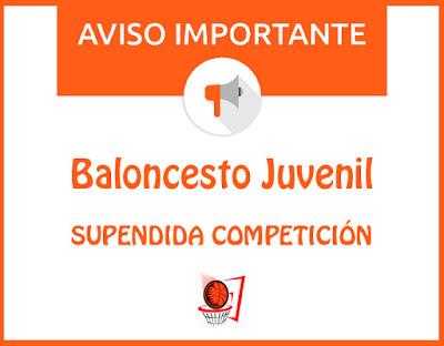 BALONCETO JUVENIL: Suspendida competición