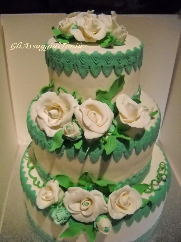 Molto Gli assaggi di Tonia: Torta Promessa di Matrimonio XM97