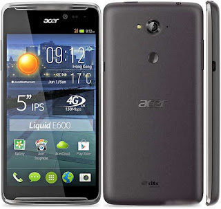 Spesifikasi dan Harga Acer Liquid E600
