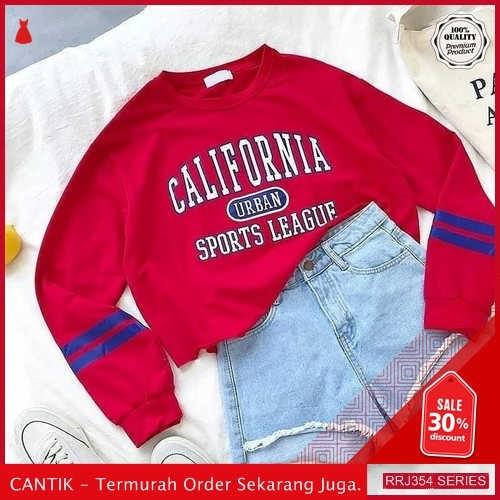Jual RRJ354O124 Outerwear California Sweater Wanita Sf Terbaru Trendy BMGShop