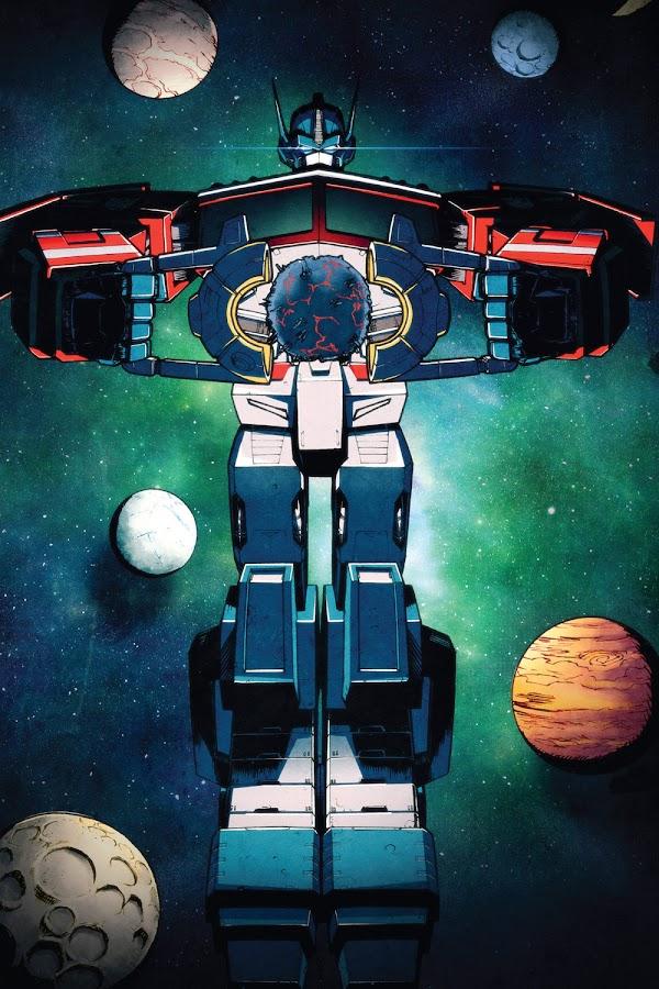 transformers optimus prime idw