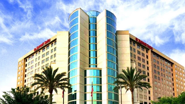 The Anaheim Marriott Suites is the premier and largest Marriott all suites full service hotel located just one mile from the Disneyland Resort attractions.