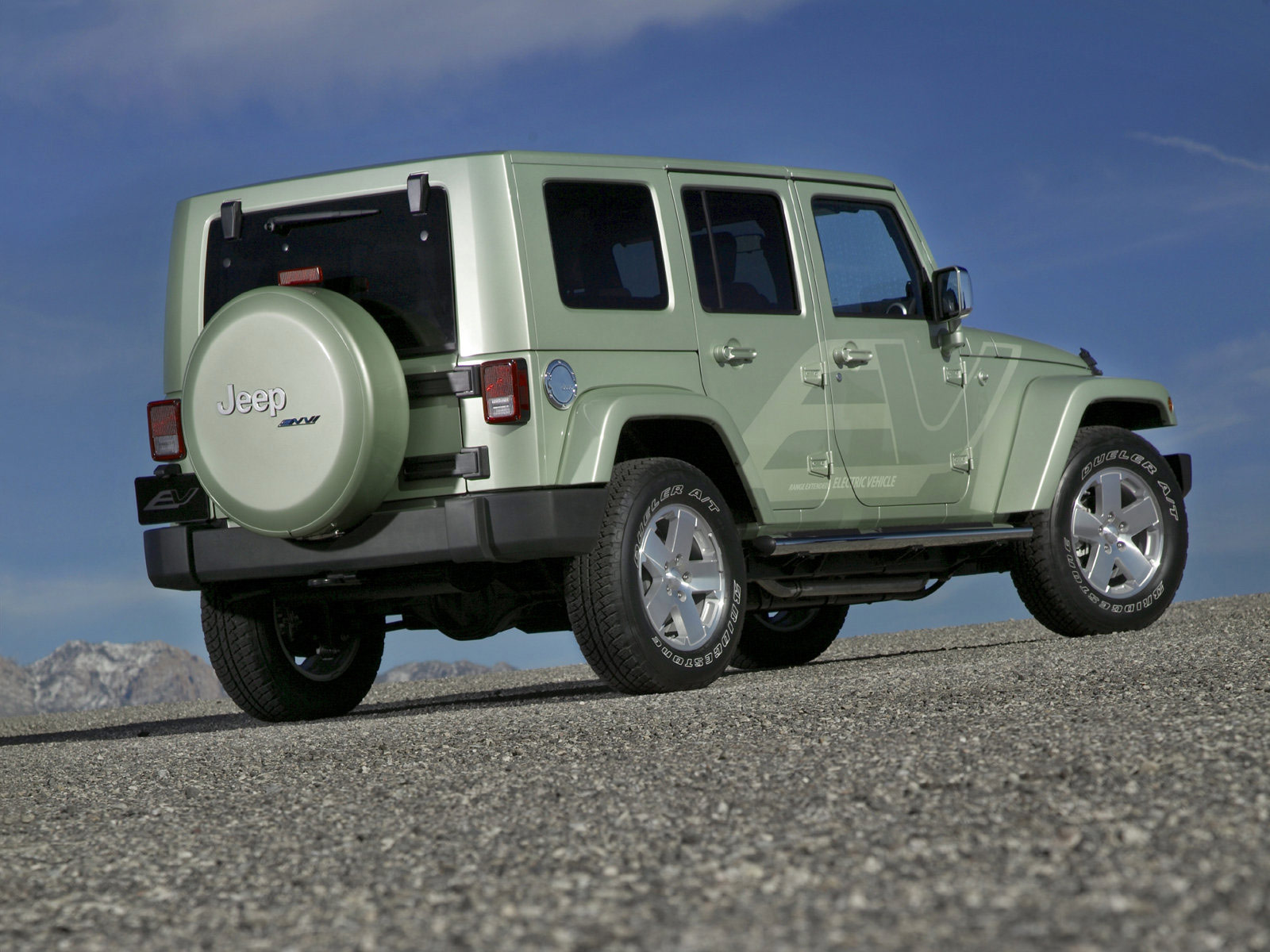 Download Gambar Mobil Jeep Wrangler Unlimited Ev