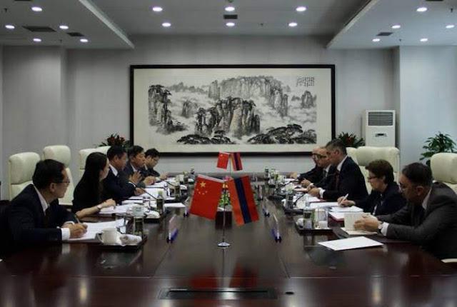Armenia y China alcanzan acuerdos múltiples en Beijing