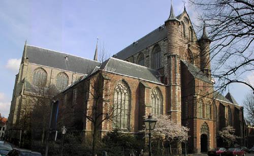 catedral de San Pedro en Leiden