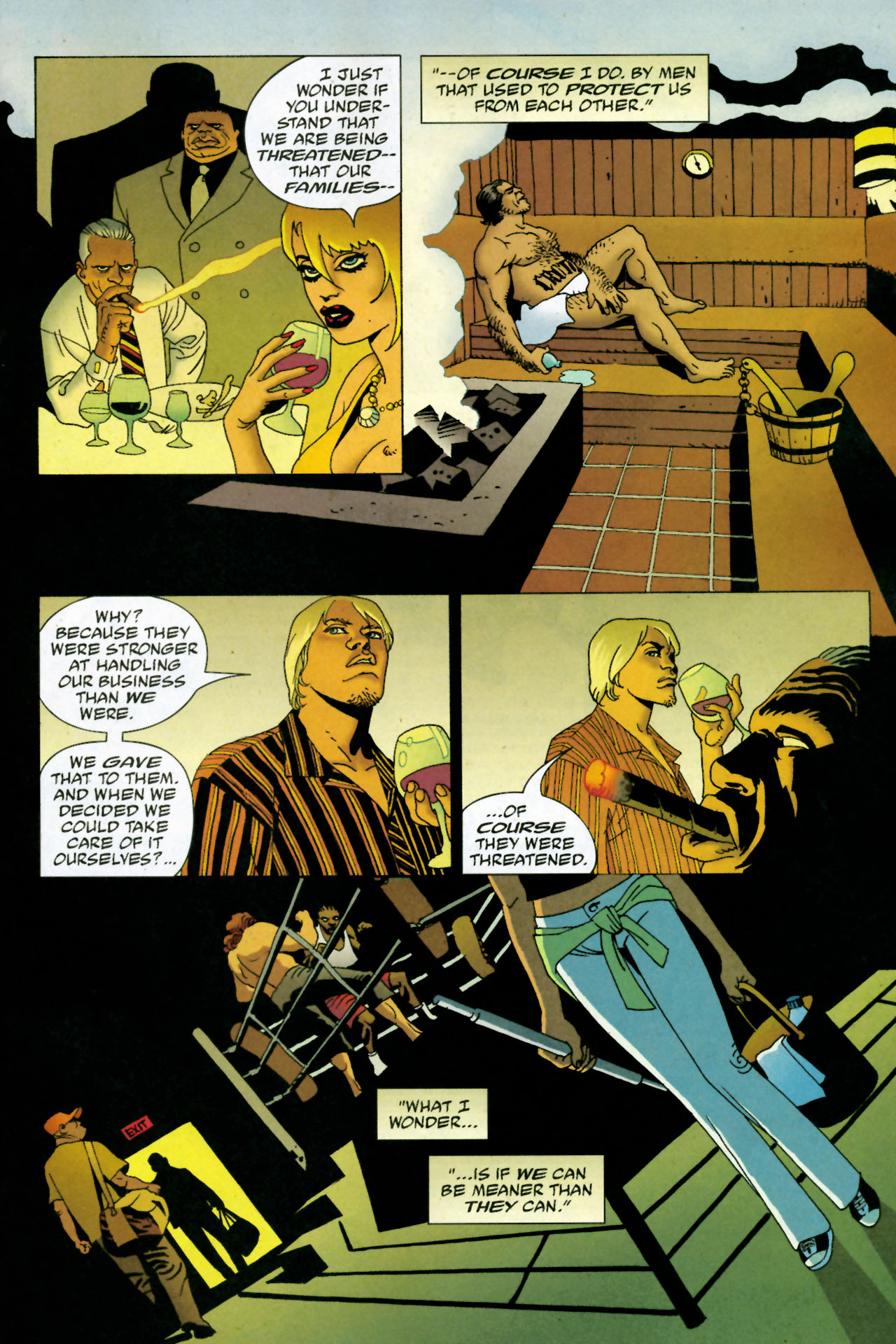 Read online 100 Bullets comic -  Issue #85 - 15