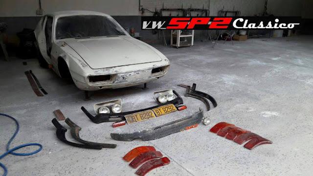 Peças para Volkswagen SP2