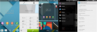 Custom rom Lollipop xperia C (MTK6589) for acer z4
