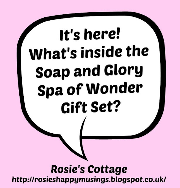 It's Here! What's inside the Soap and Glory Spa of Wonder Gift Set?