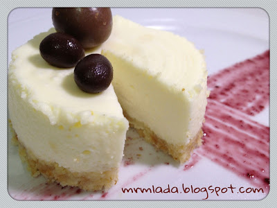 Mini tartas mousse de chocolate blanco