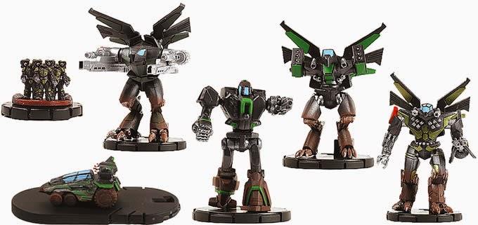 Mechwarrior figure singles