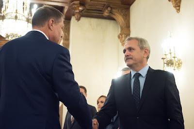 Klaus Iohannis, Liviu Dragnea, kormányalakítás, Románia, parlamenti választások, PSD, ALDE