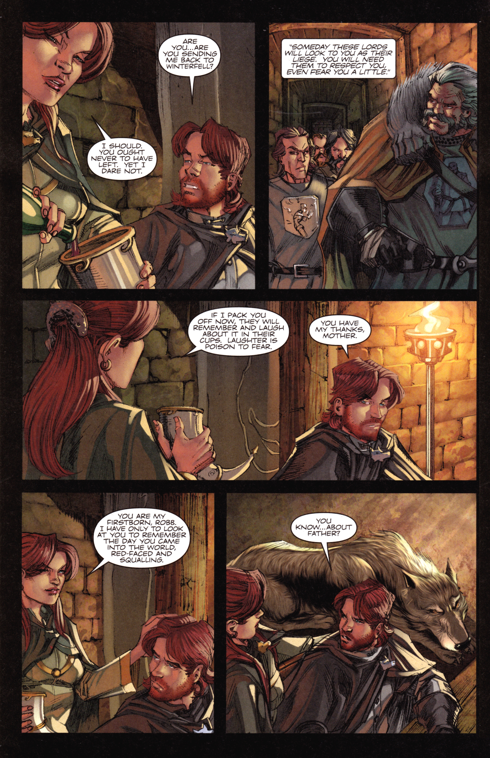 Read online A Game Of Thrones comic -  Issue #18 - 8