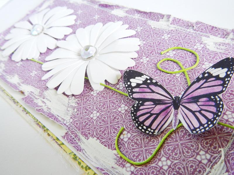 Kartka handmade na imieniny