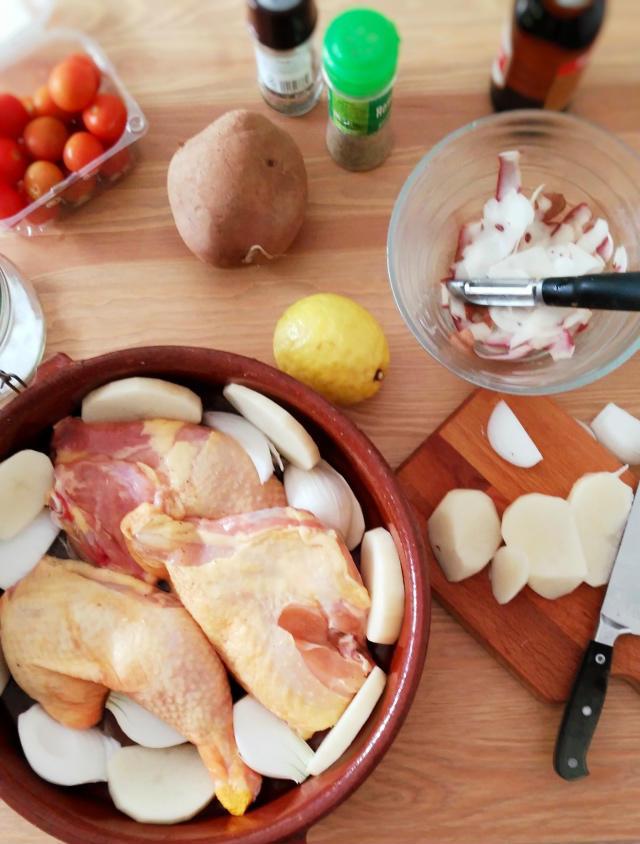 Receta de pollo de corral a la cerveza negra, ingredientes y elaboración