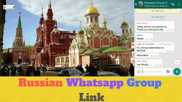 75+ Best Russian Whatsapp Group Link List For Russia Fans