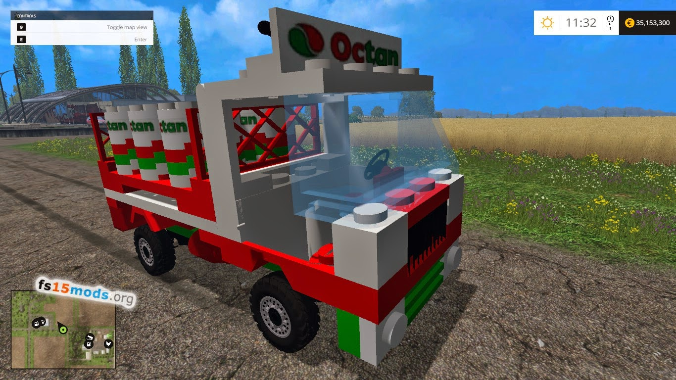 Lego Truck Mod on Tractor Truck