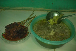 EAT DELICIOUS SATE AS DINNER