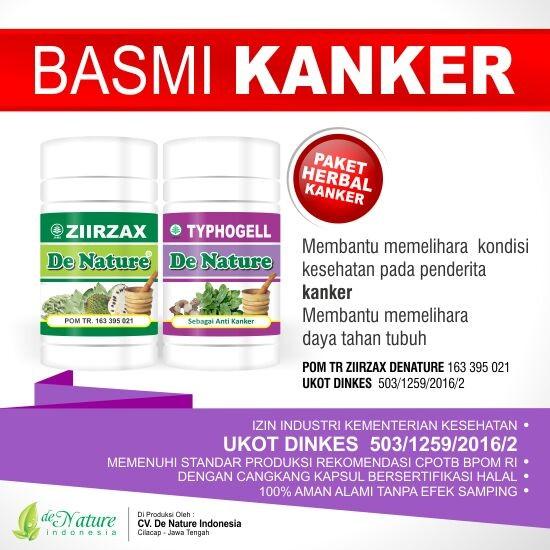Obat Kanker Herbal de Nature | Efektif Efisien Hemat Waktu