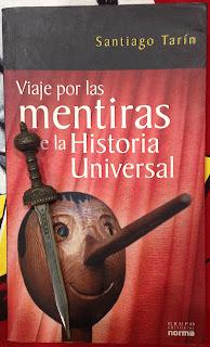 Portada del libro Viaje por las mentiras de la historia universal, de Santiago Tarín