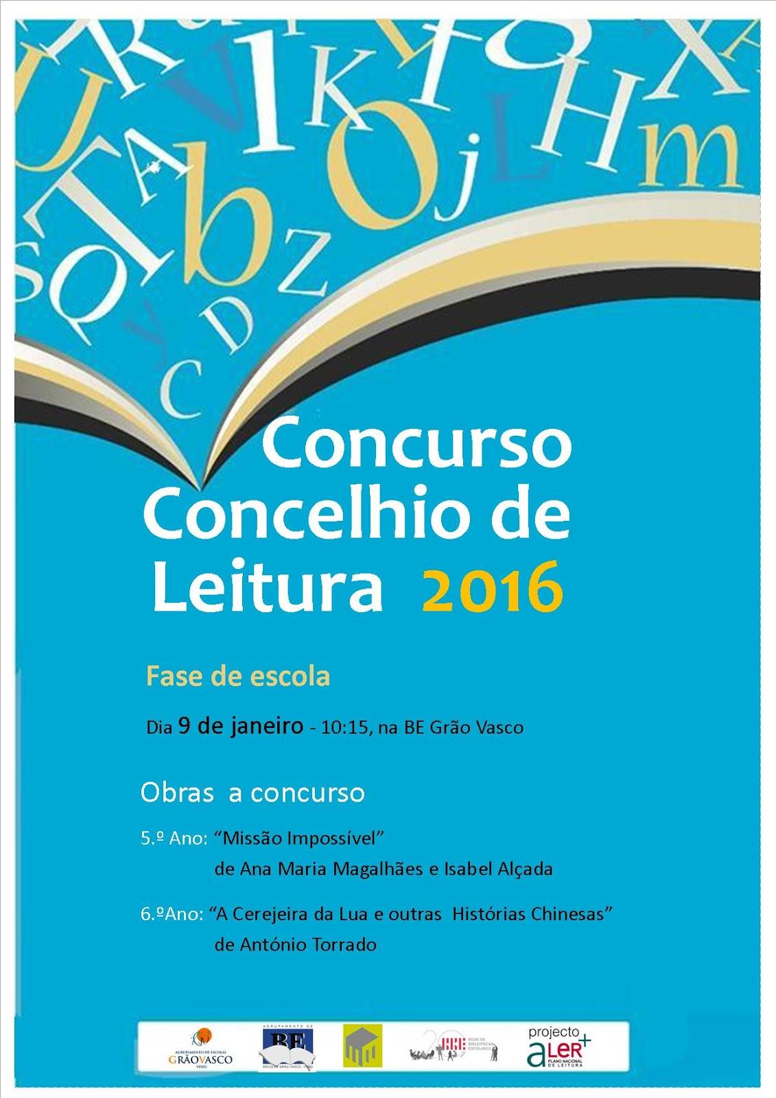 Biblioteca escolar gr o vasco concurso concelhio de for Concurso para profesores 2016