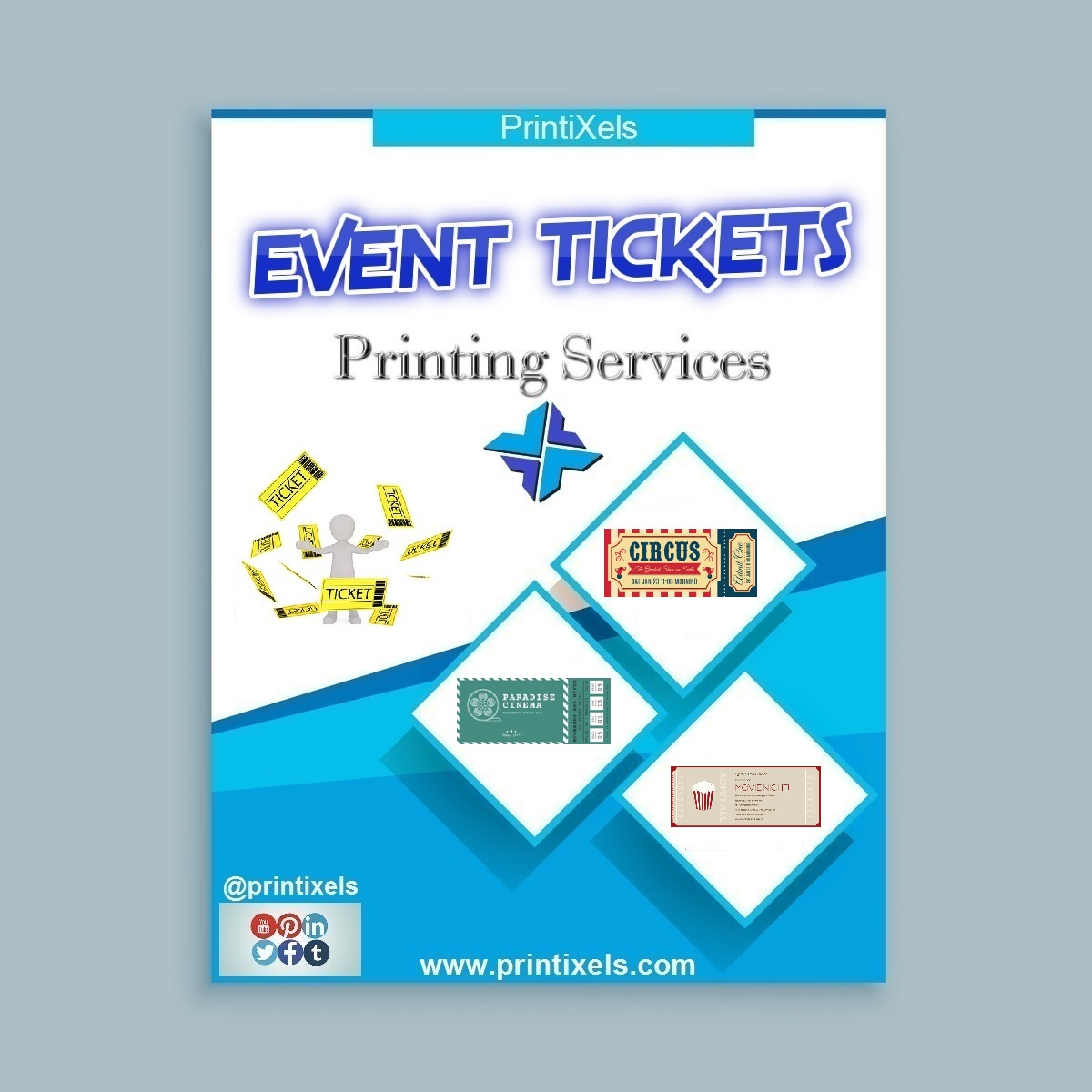 event tickets printing services printixels philippines