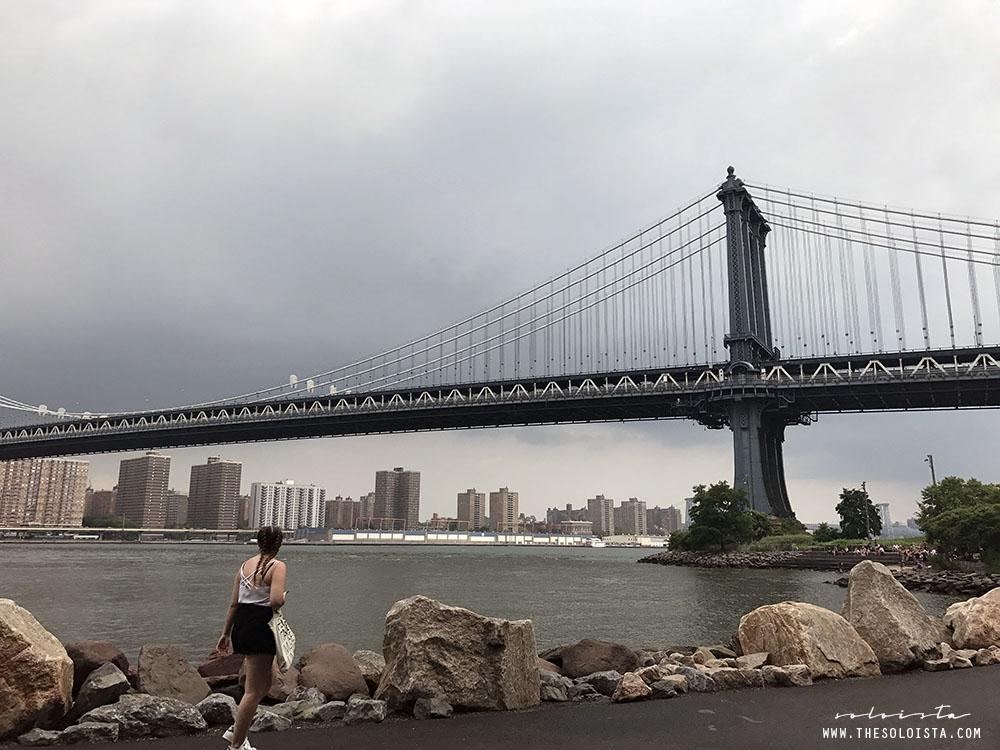 DUMBO; Manhattan Bridge