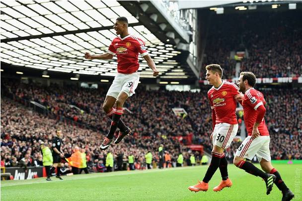 Marcus Rashford Man of the Match